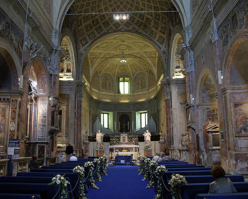 Interni della Chiesa di San Pietro in Montorio a Roma