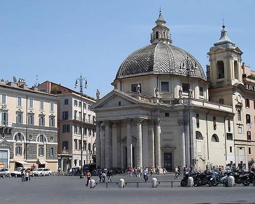 Chiesa di Santa Maria in Montesanto a Piazza del Popolo
